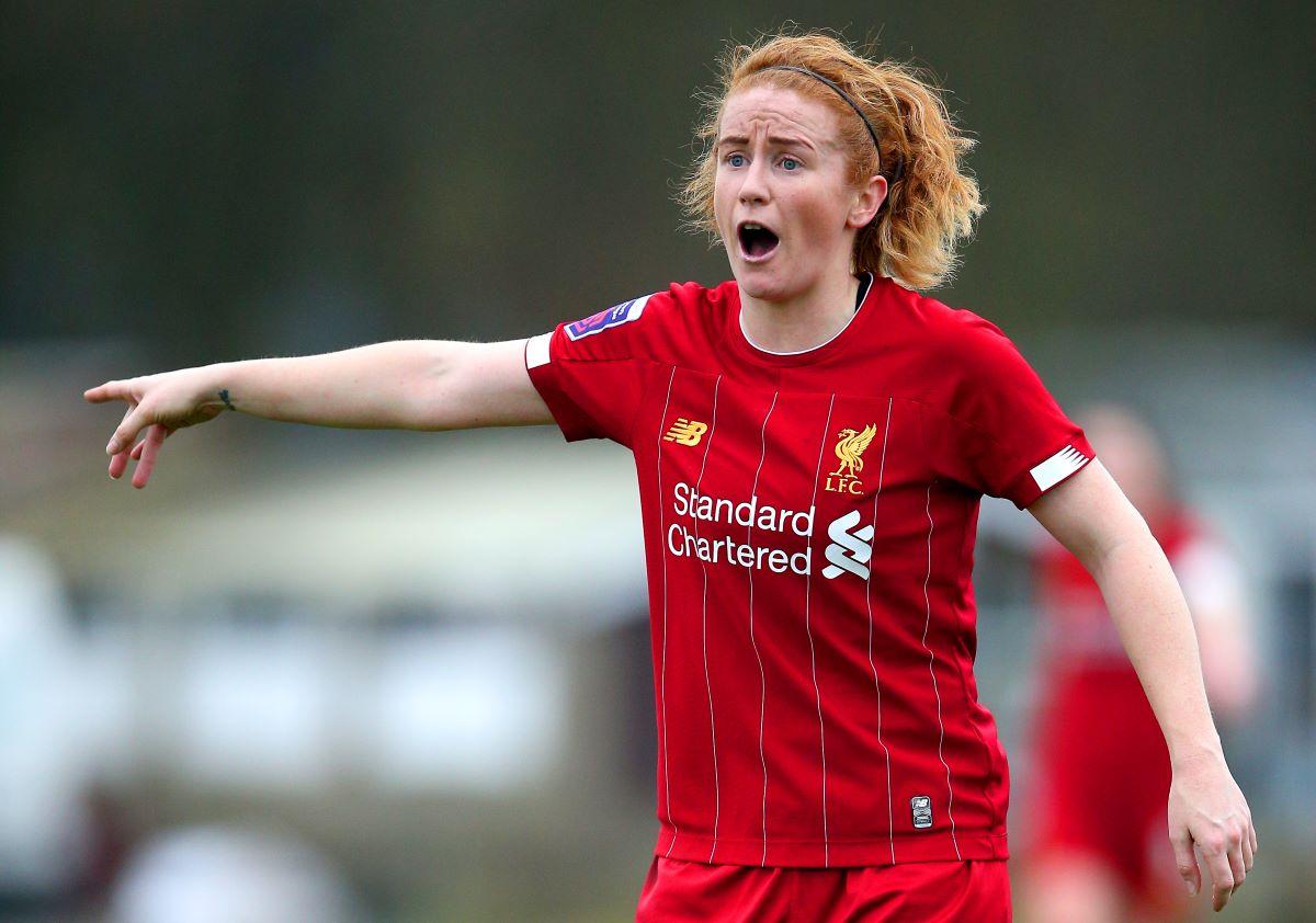 Liverpool's Rachel Furness