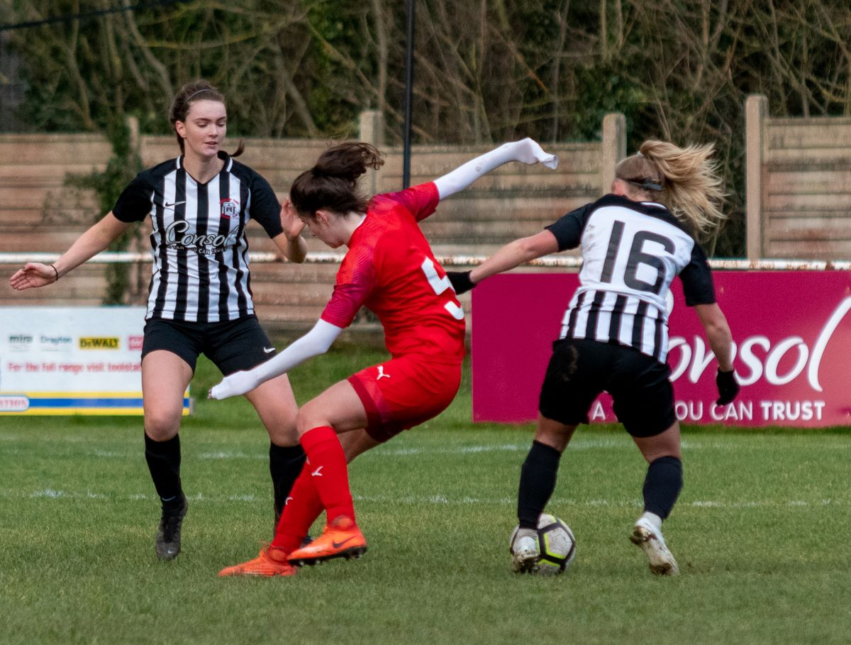 Sherborne Town match action