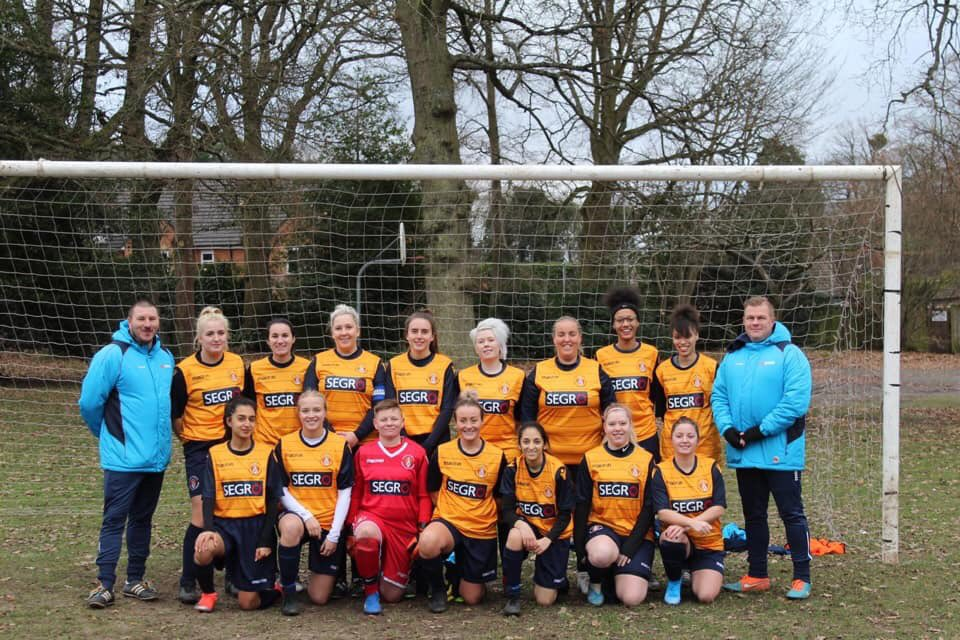 Slough Town ladies raising money for NHS