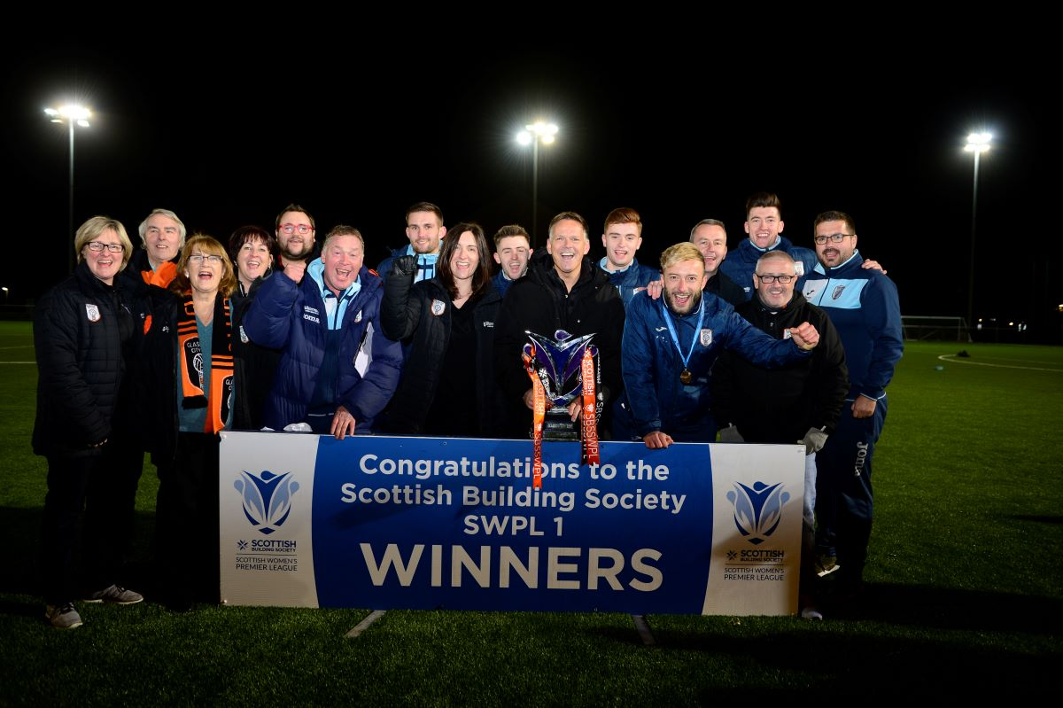 league winners management and back room staff