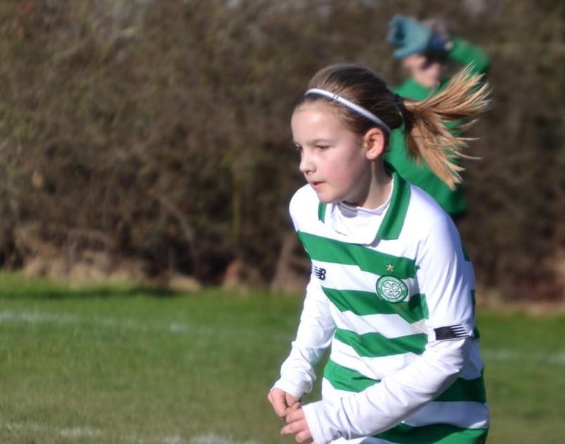 Celtic Girls Academy's Madison Dunn