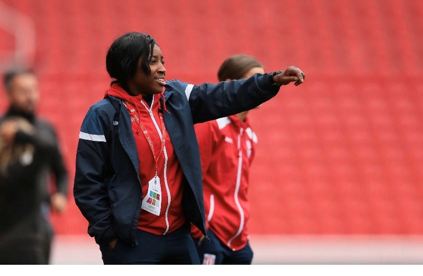 Alena Moulton - Stoke City Women Assistant coach