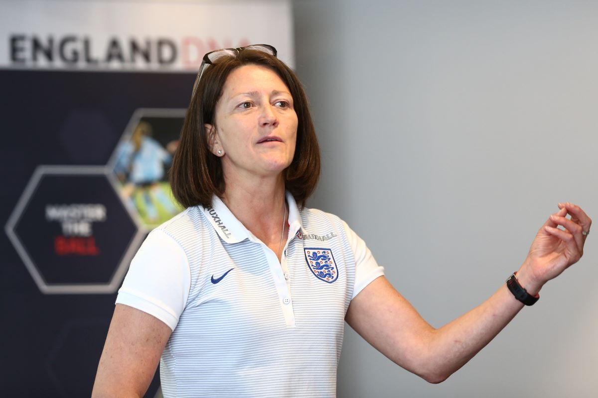 Head of FA Women's Coach Development FA Coach development, Audrey Copper