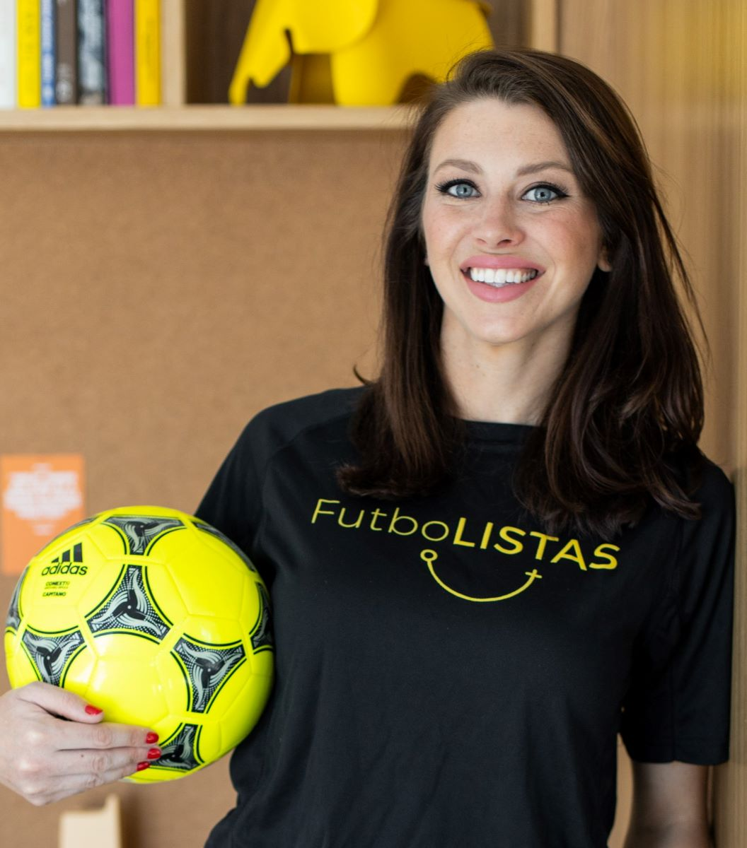 FutboLISTAS founder ,Brittany Gropp