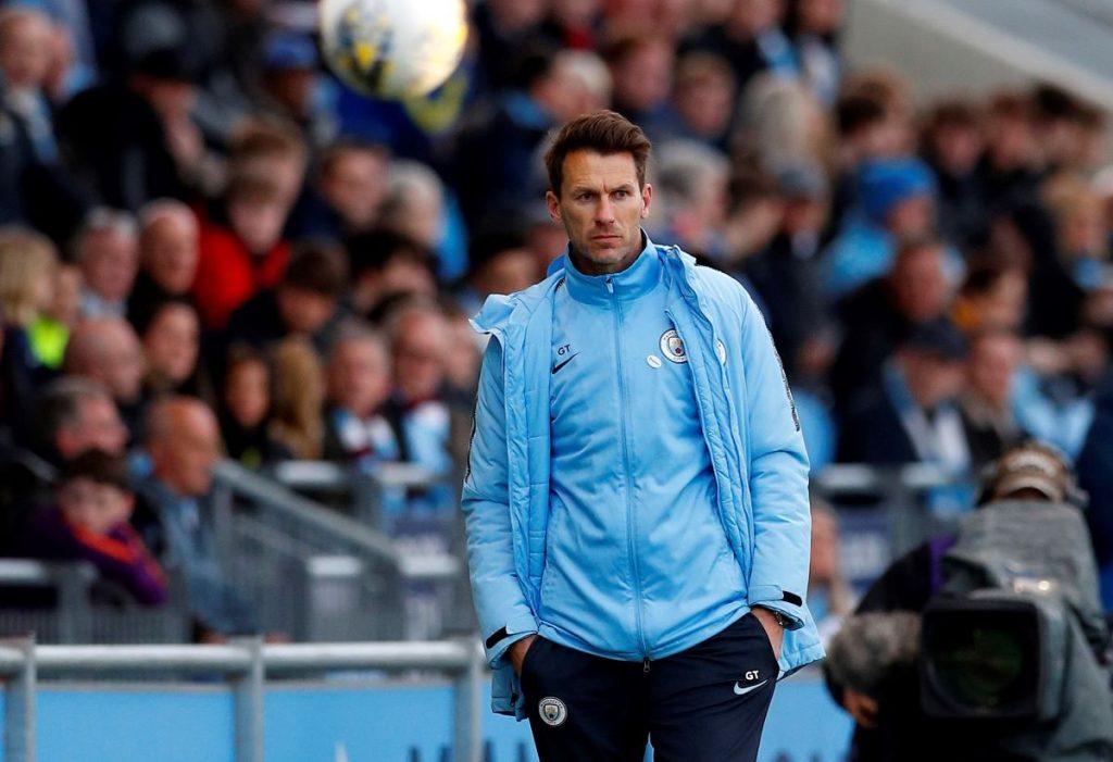 Gareth Taylor, new Man City head coach