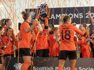 Glasgow City lift the 2019 SWPL trophy