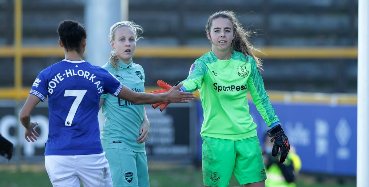 Kirstie Levell And Taylor Hinds Leave Everton Women Shekicks