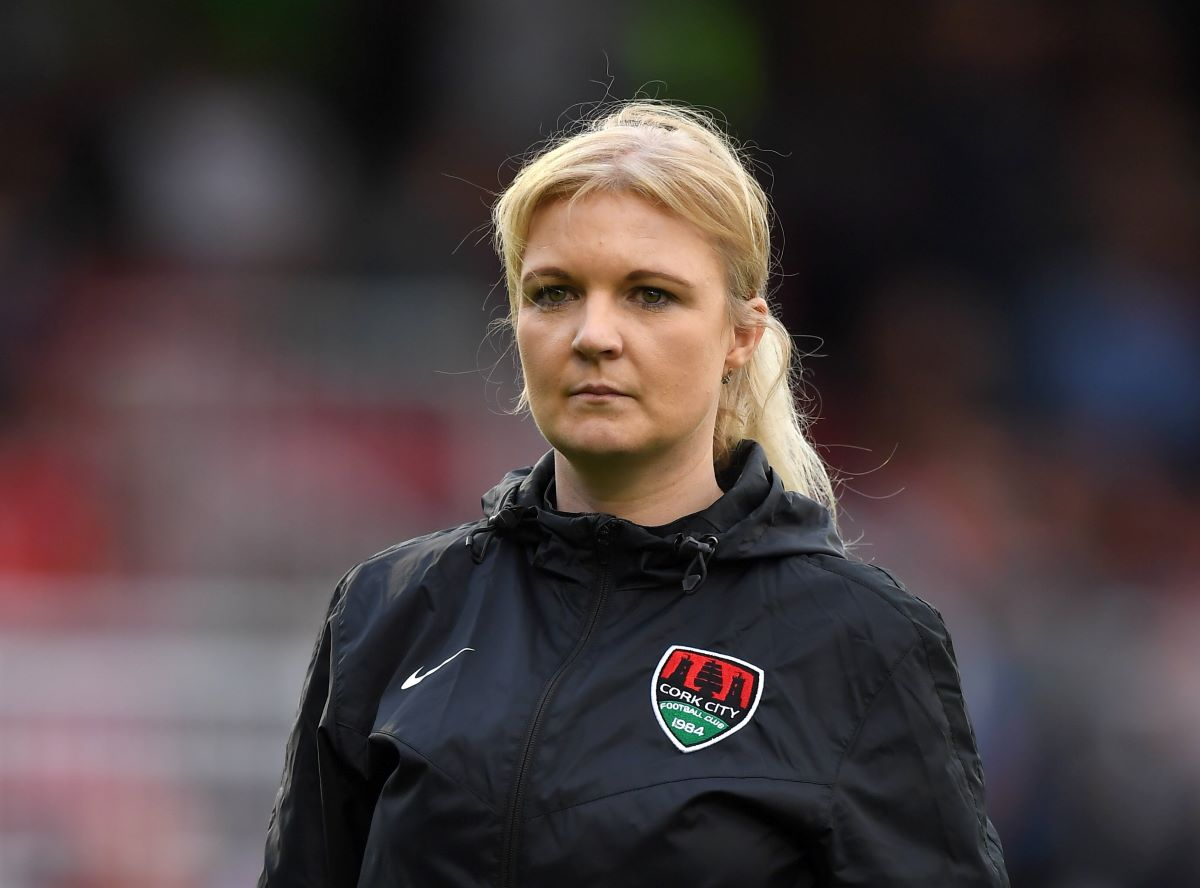 London City Lionesses new head coach, Lisa Fallon