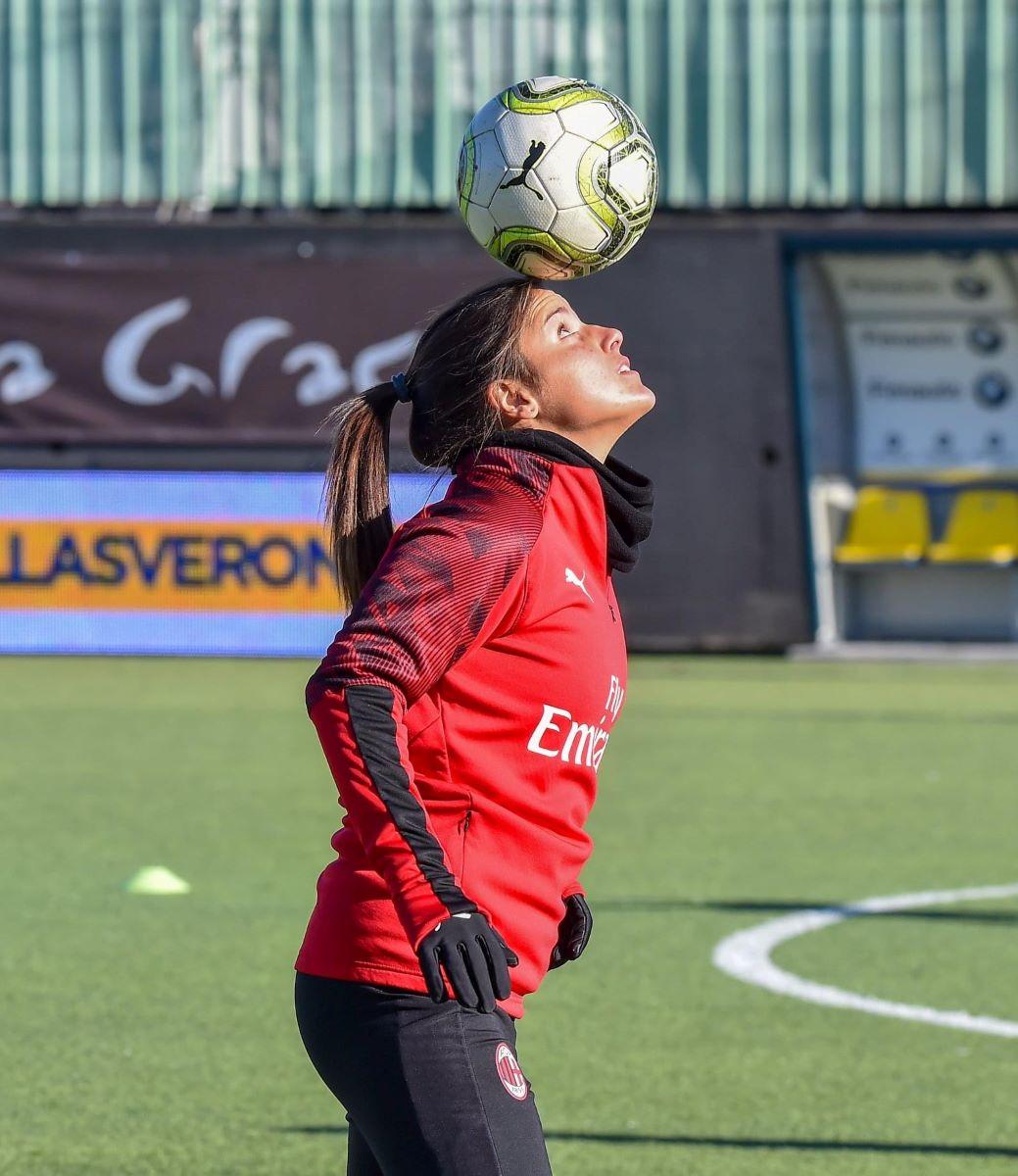 Monica Mendes of AC Milan
