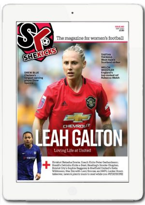 She Kicks Issue 60 cover ipad