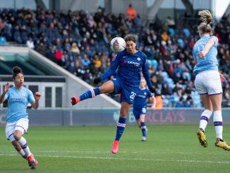 Sam Kerr in action for Chelsea