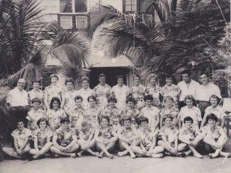 Manchester Corinthians during their 1960 South American Tour