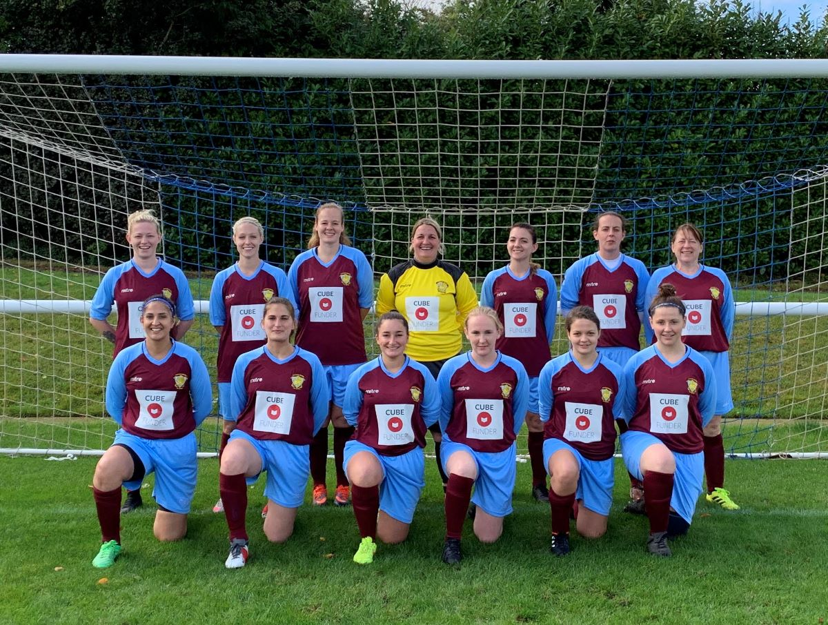 Thames valley Counties League side, Taplow ladies