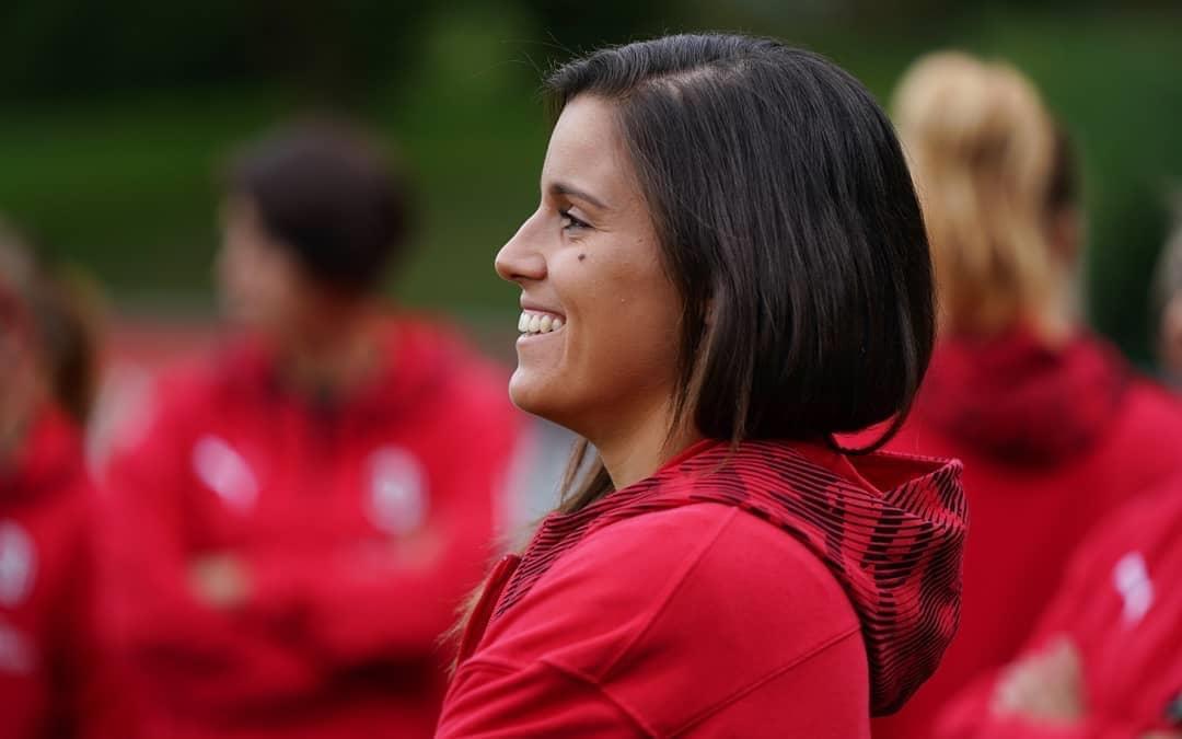 AC Milan's potuguese international, Monica Mendes