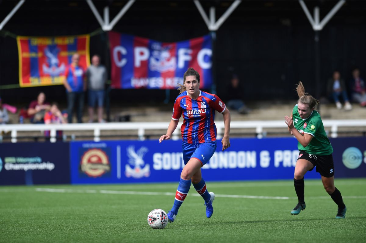 Crystal Palace's Amy Goddard