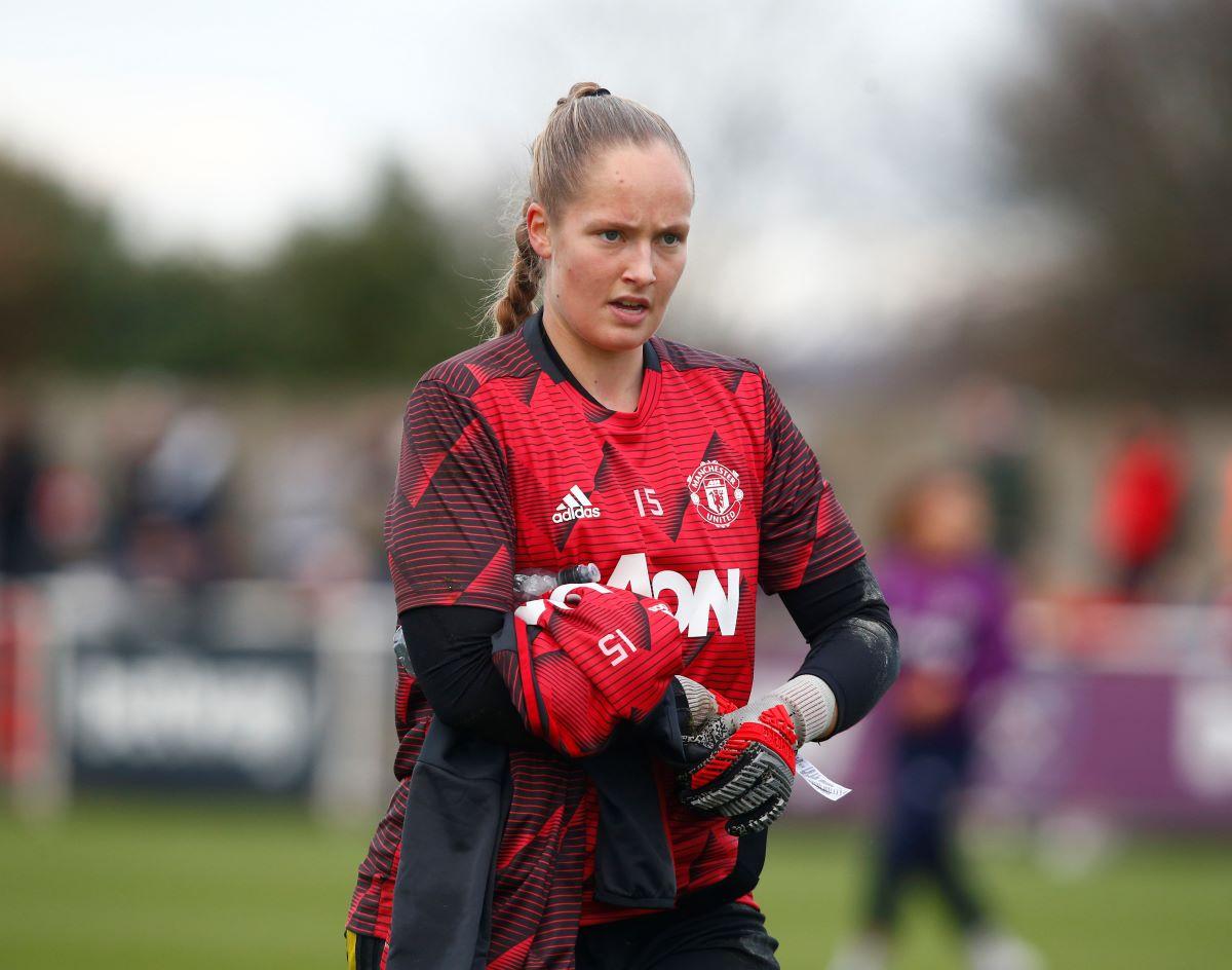 Man United's Aurora Mikalsen released