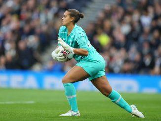 Spurs goalkeeper Becky Spencer