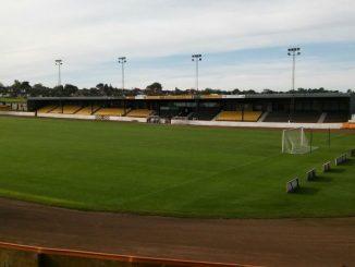 berwick Rsangers' Shielfield Park ground