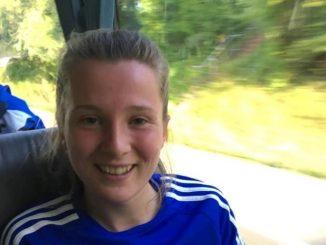 Manchester United Academy's new recruit, Carrie Jones
