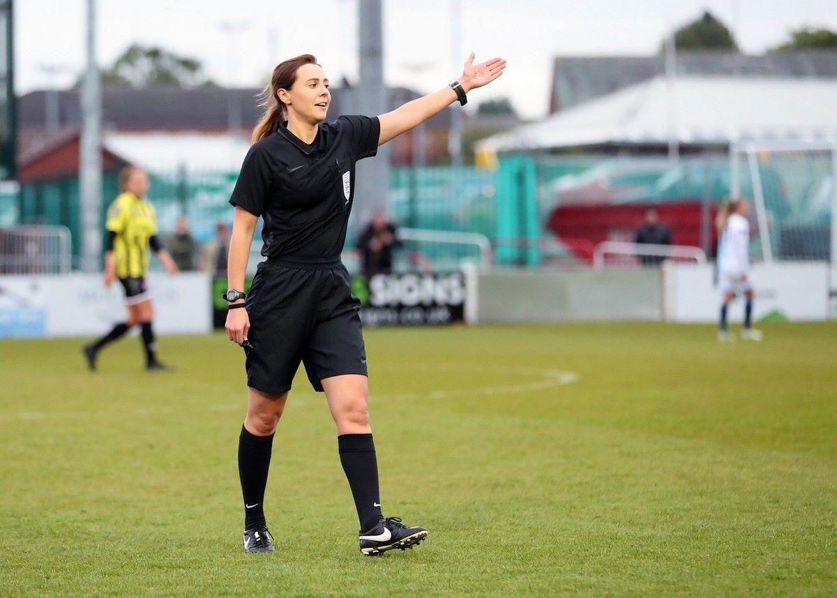 Cristiana Hattersley – FA Women's Championship Referee