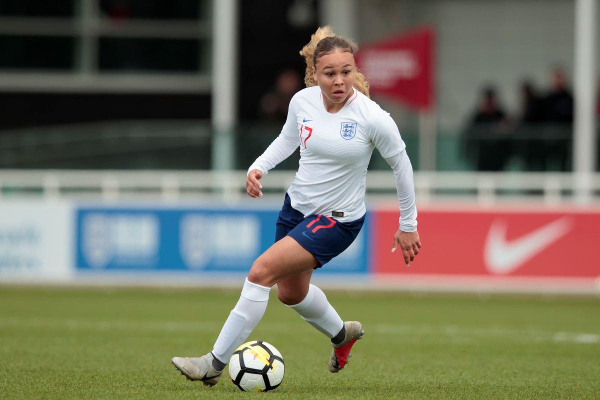 England U-19's Ebony Salmoin