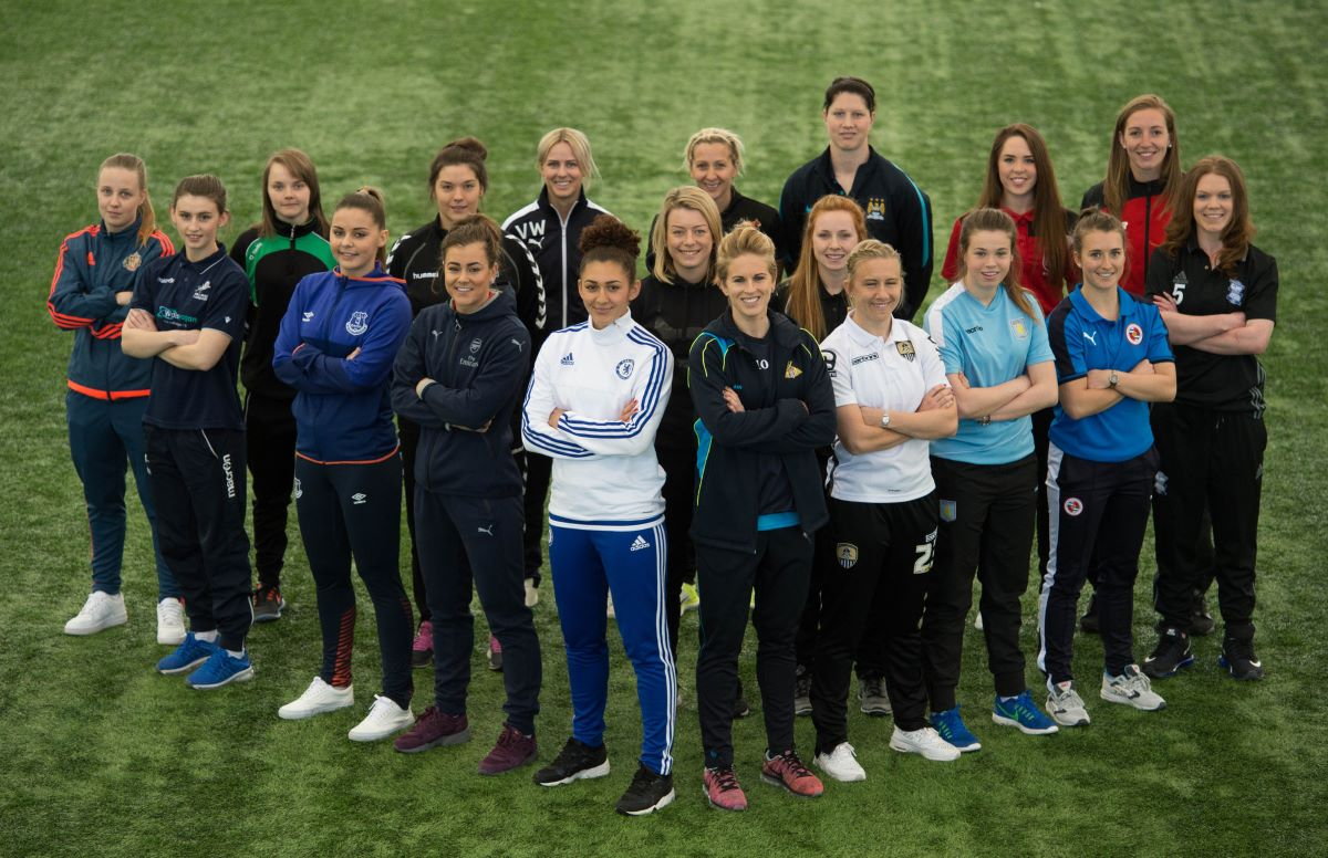 WSL 1 & 2 players at 2016 launch