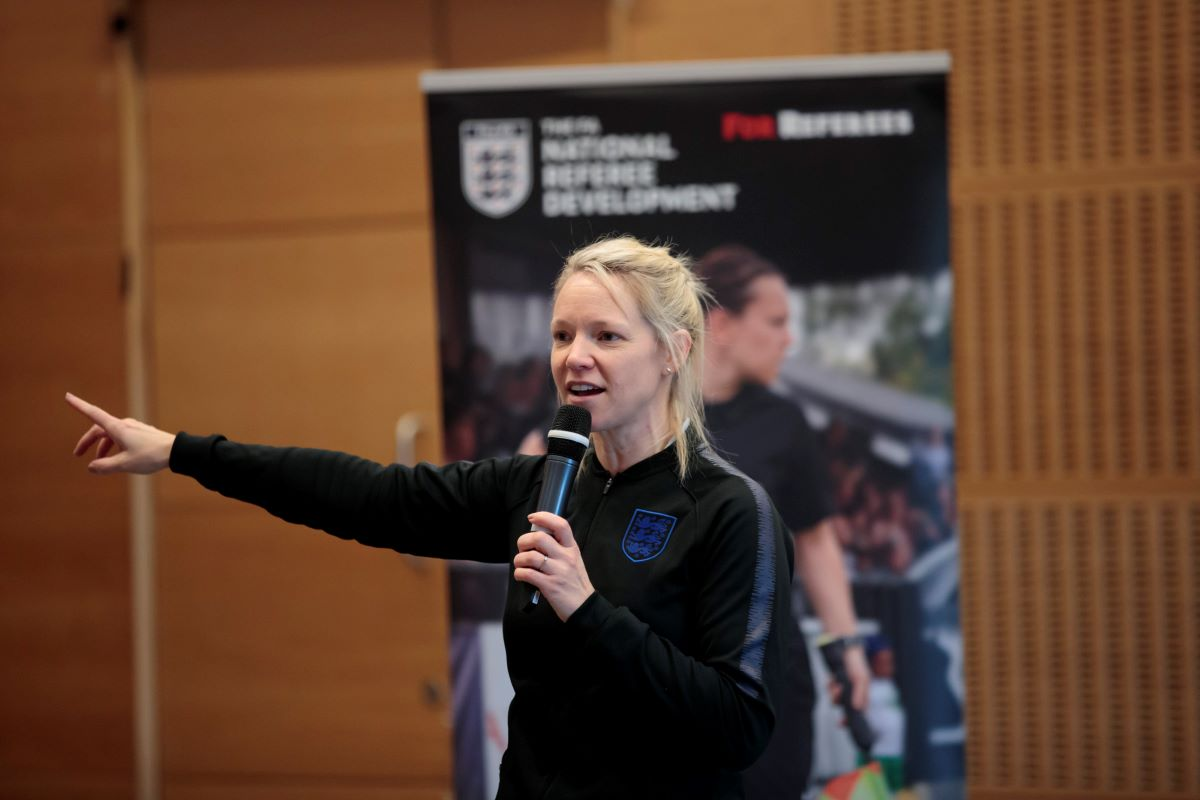 Joanna Stimpson - FA Women's Refereeing Manager.