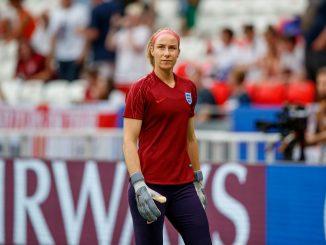 England keeper, Karen Bardsley