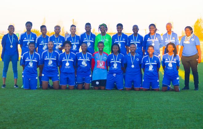 Kick4Life FC Ladies squad