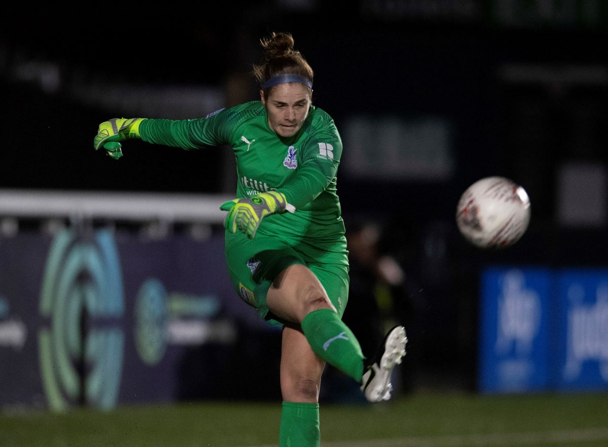 Goalkeeper Lucy Gillett one of three players to leave Crystal Palace