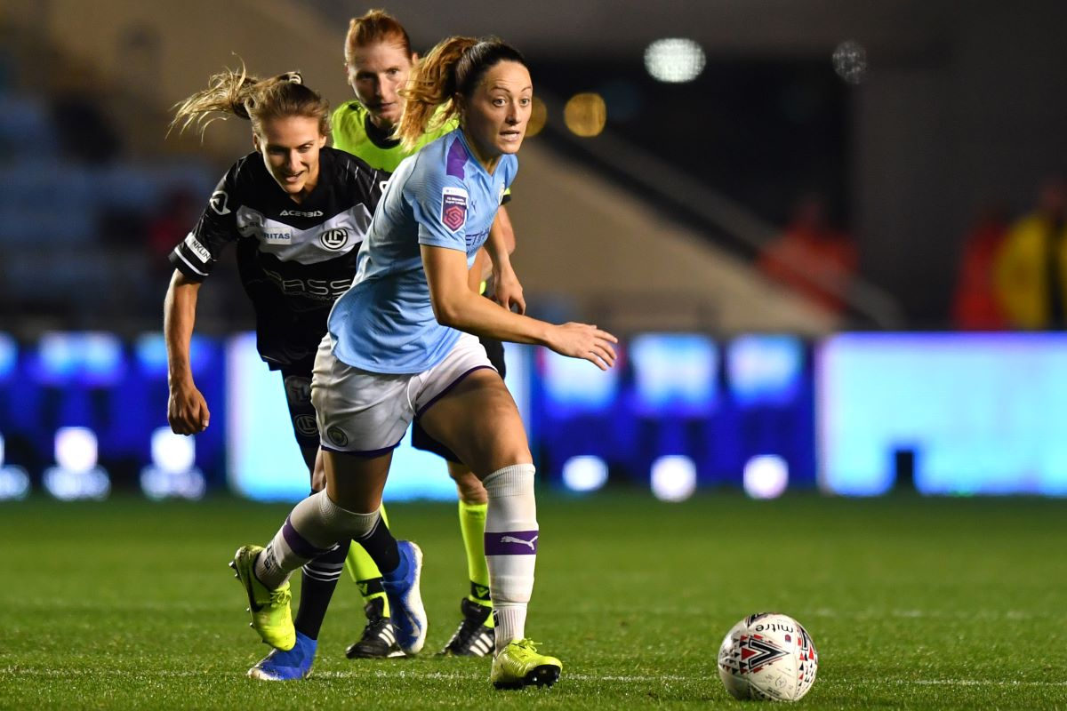 New Man City contract for Megan Campbell
