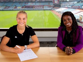 Stine Larsen signs for Aston illa