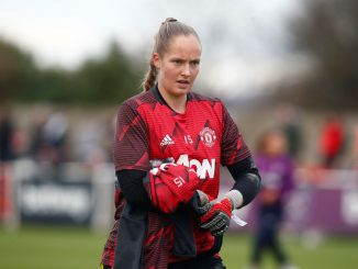 Spurs' new keeper, Aurora Mikalsen