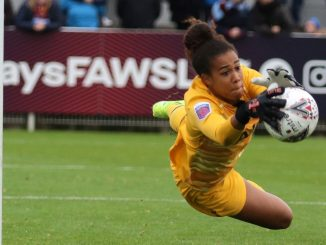 Crystal Palace's new keeper, Chloe Morgan
