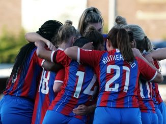 Crystal Palace huddle