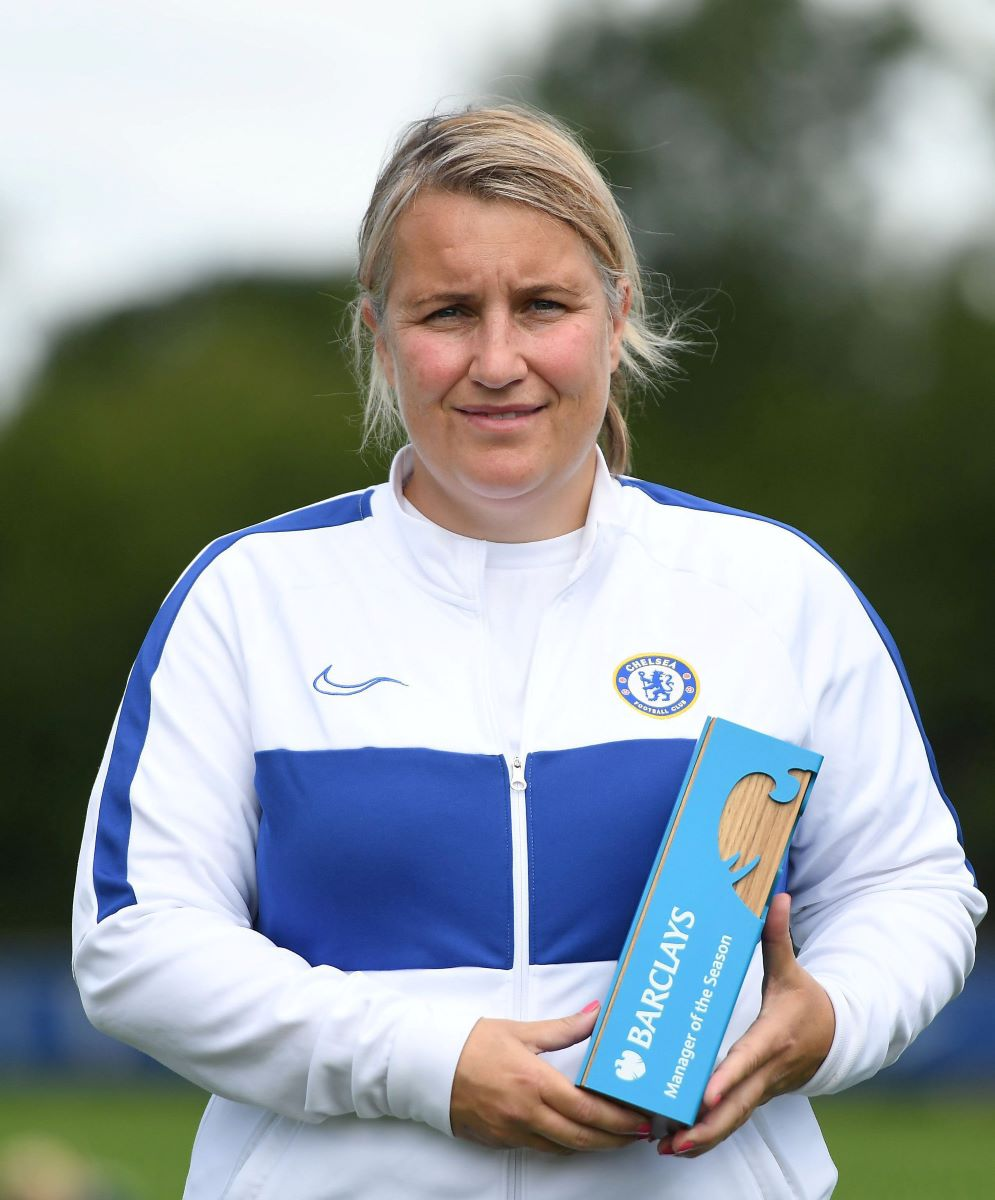 FAWSL Manger of the season, Emms Hayes