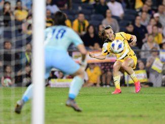 Australian forward, Hayley Raso