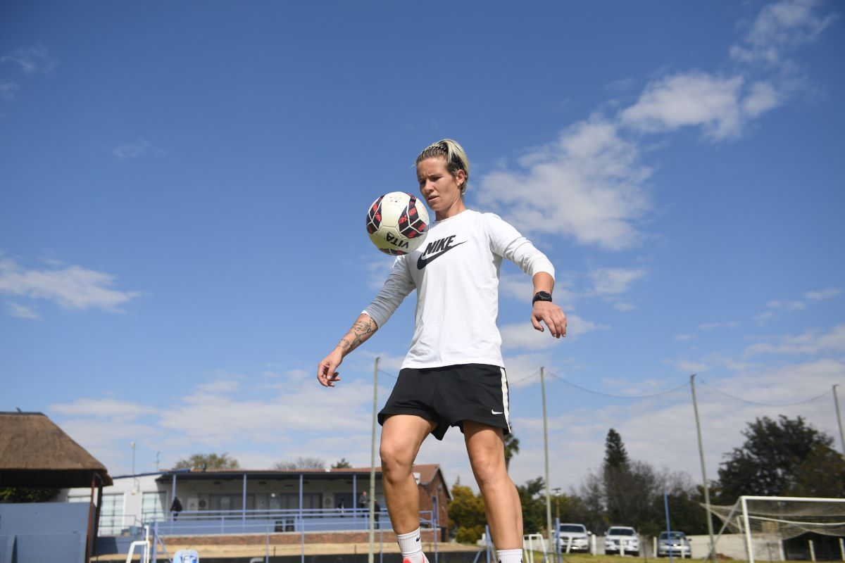 Glasgow City's new signing, Janine van Wyk