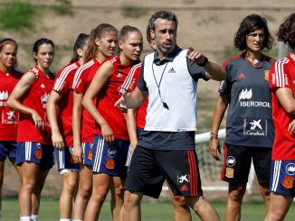 Spain WNT jhead coach Jorge Vilda