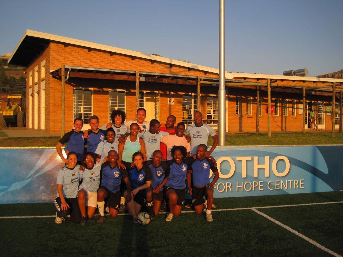 Kick4Life Academy, Lesotho