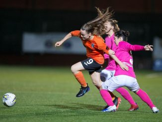 Glasgow City striker, Kirsty Howat
