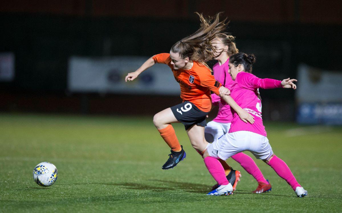 Glasgow City striker, Kirsty Howat