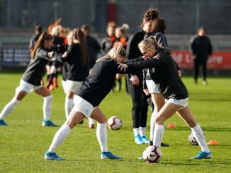 London City Lionesses warm-up