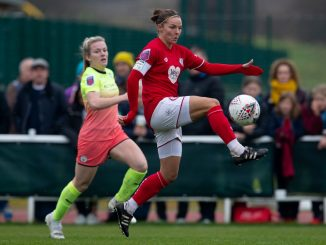 Cardiff City Ladies new signing, Loren Dykes