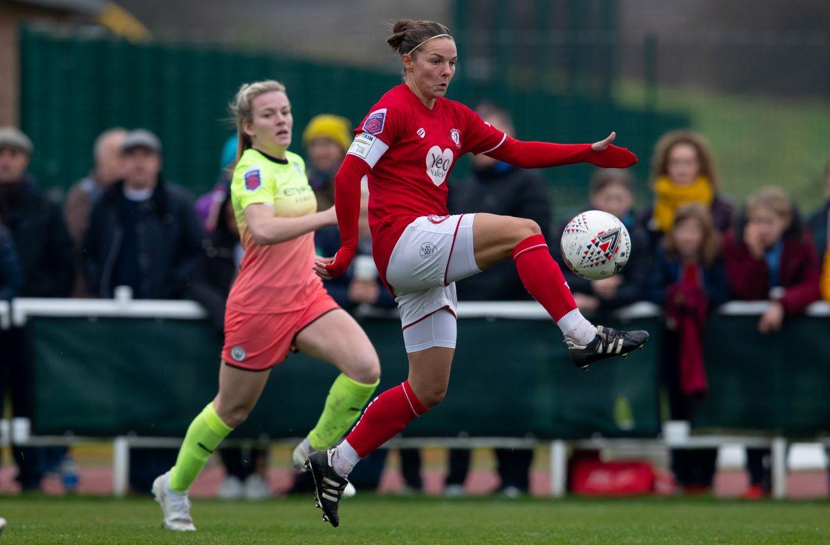 Cardiff City Ladies new signing, Loren Dykes