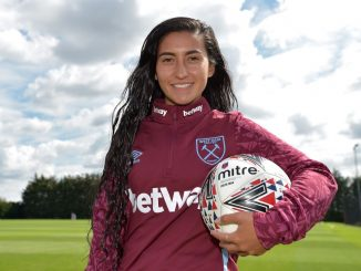 West ham's new signing, Maz Pacheco