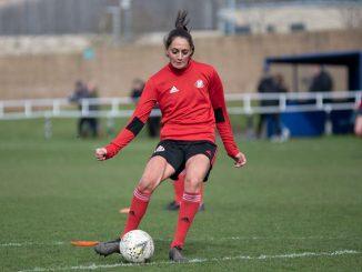 Durham's new signing, Mollie Lambert