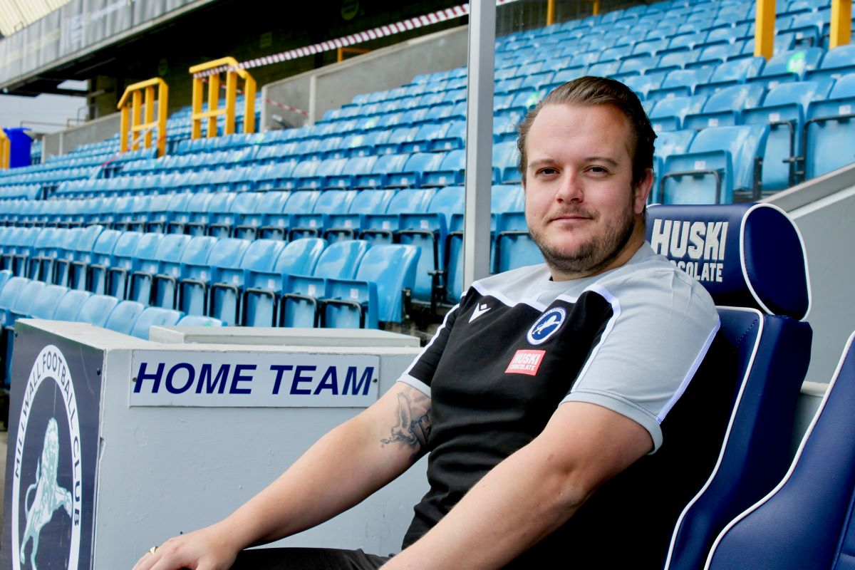 New Millwall Lionesses assistant manager, Nick Farrell