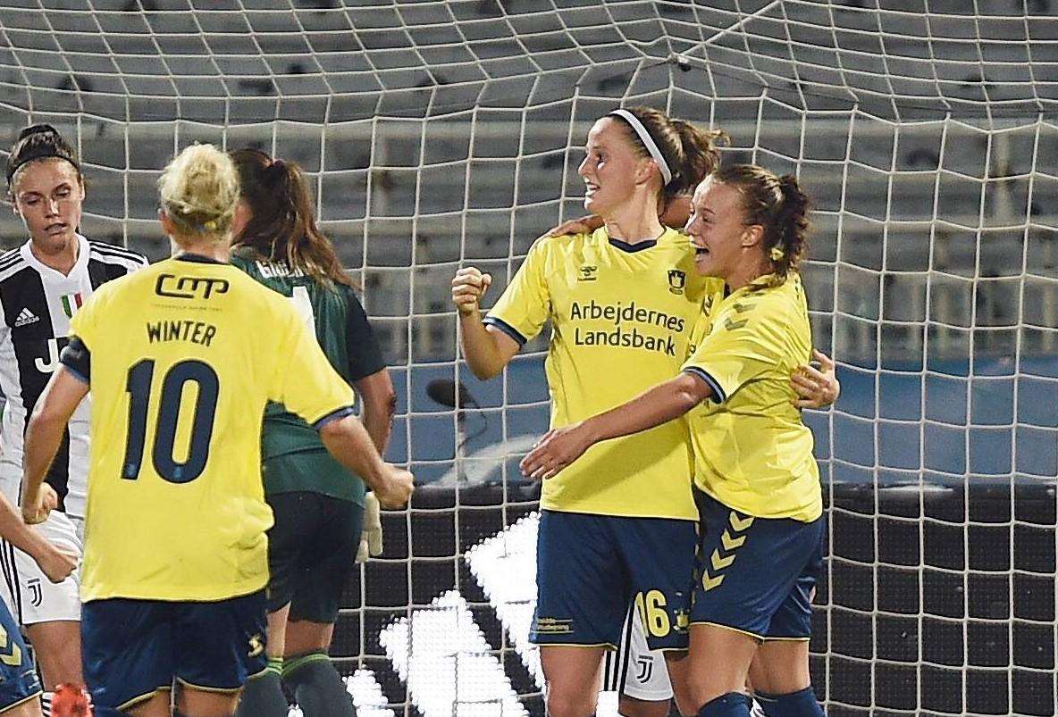 everton's new signing, Nicole Sorensen