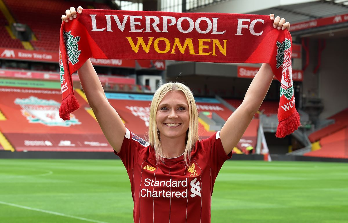 Liverpool'snew signing, Amalie Thestrup